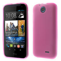 Gelové pouzdro na HTC Desire 310- růžové