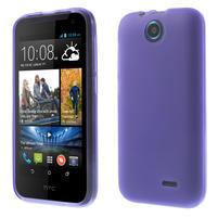 Gelové pouzdro na HTC Desire 310- fialové