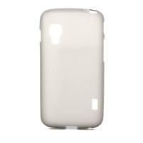 Matné gelové pouzdro pro LG Optimus L5 Dual E455- šedé