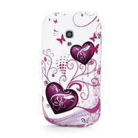 Gelové pouzdro na Samsung Galaxy S3 mini i8190- dvě srdce