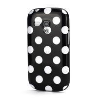 Gelové pouzdro PUNTÍK pro Samsung Galaxy S3 mini i8190- černé