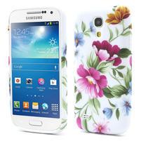 Gelové pouzdro pro Samsung Galaxy S4 mini i9190- květinka
