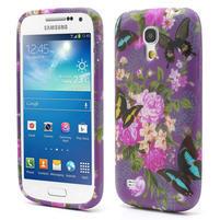 Gelové pouzdro pro Samsung Galaxy S4 mini i9190- květ pivoňky