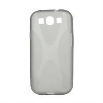 Gelové pouzdro pro Samsung Galaxy S3 i9300 - X-line šedé