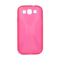 Gelové pouzdro pro Samsung Galaxy S3 i9300 - X-line růžové