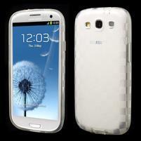Gelové koskaté pouzdro na Samsung Galaxy S3 i9300- transparentní
