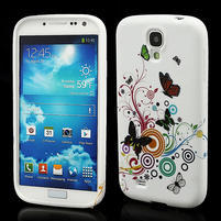 Gelové pouzdro pro Samsung Galaxy S4 i9500- motýl color
