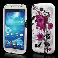 Gelové pouzdro pro Samsung Galaxy S4 i9500- květové pouzdro