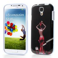 Gelové pouzdro na Samsung Galaxy S4 i9500- lakovaná žena