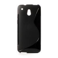 Gelové S-line pouzdro pro HTC one Mini M4- černé