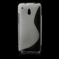 Gelové S-line pouzdro pro HTC one Mini M4- transparentní