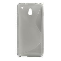 Gelové S-line pouzdro pro HTC one Mini M4- šedé
