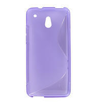 Gelové S-line pouzdro pro HTC one Mini M4-fialové
