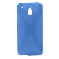 Gelové X-line pouzdro pro HTC one Mini M4- modré