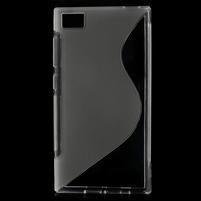 Gelové S-line pouzdro na Xiaomi Mi3- transparentní