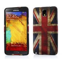 Gelové pouzdro na Samsung Galaxy Note 3- UK vlajka