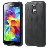 Gelové pouzdro na Samsung Galaxy S5- černé