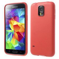 Gelové pouzdro na Samsung Galaxy S5- červené