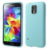 Gelové pouzdro na Samsung Galaxy S5- světlemodré