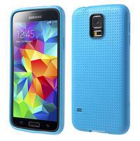 Gelové pouzdro na Samsung Galaxy S5- modré