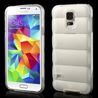 Gelové vesta pouzdro na Samsung Galaxy S5- bílé