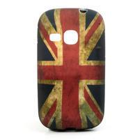 Gelové pouzdro na Samsung Galaxy Young S6310- UK vlajka