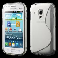 Gelové S-line pouzdro pro Samsung Trend plus, S duos- transparentní
