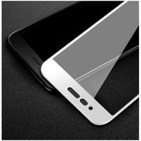 Fixační celoplošné tvrzené sklo na Honor 8 Pro - bílý lem