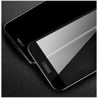 Fixační celoplošné tvrzené sklo na Honor 8 Pro - černý lem
