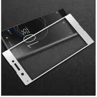 GT fixační celoplošné tvrzené sklo na Sony Xperia XA1 - bílý lem