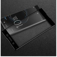 GT fixační celoplošné tvrzené sklo na Sony Xperia XA1 Ultra - černý lem