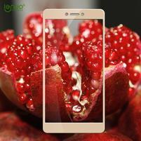 GX9 celoplošné fixační tvrzené sklo na Xiaomi Redmi 4X - zlatý lem