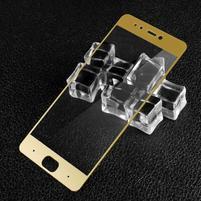 GT celoplošné fixační tvrzené sklo na Xiaomi Mi5s - zlatý lem