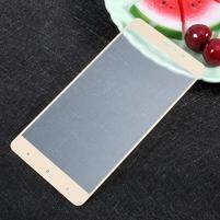 Temper celoplošné fixační sklo na Xiaomi Mi5s Plus - zlatý lem