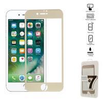 GT celoplošné fixační tvrzené sklo na iPhone 7 Plus - zlaté
