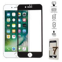 GT celoplošné fixační tvrzené sklo na iPhone 7 - černé