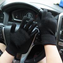 GX protiskluzové rukavice - černé