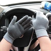 GX protiskluzové rukavice - šedé