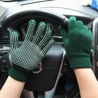 GX protiskluzové rukavice - zelené