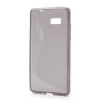 Gelové S-line pouzdro pro HTC Desire 600- šedé