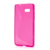 Gelové S-line pouzdro pro HTC Desire 600- růžové