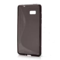 Gelové S-line pouzdro pro HTC Desire 600- černé