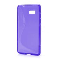 Gelové S-line pouzdro pro HTC Desire 600- fialové
