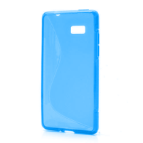 Gelové S-line pouzdro pro HTC Desire 600- modré