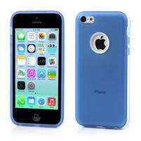 Gelové rámové pouzdro pro iPhone 5C- modré