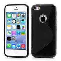 Gelové S-line pouzdro pro iPhone 5C- černé