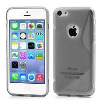 Gelové S-line pouzdro pro iPhone 5C- šedé