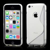 Gelové S-line pouzdro pro iPhone 5C- transparentní
