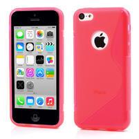 Gelové S-line pouzdro pro iPhone 5C- růžové