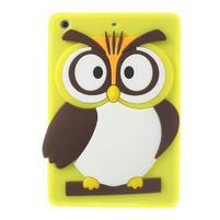 Silikonové pouzdro na iPad mini 2 - žlutá sova